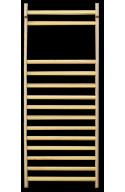 Espaldera de madera de un cuerpo