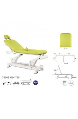 Camilla de masaje eléctrica 2 cuerpos