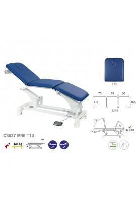 Camilla de masaje eléctrica 3 cuerpos