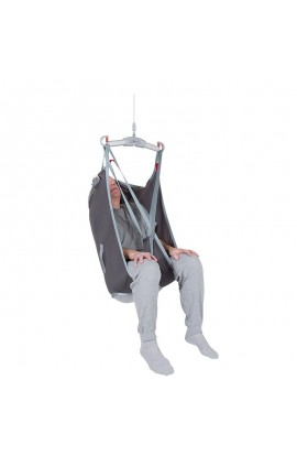 Arnés de elevación espalda alta, piernas separadas