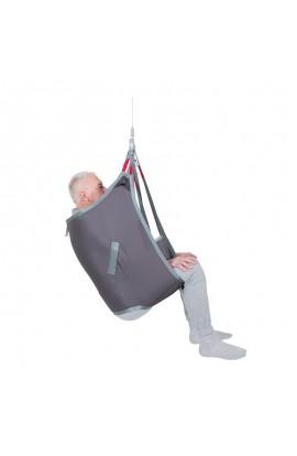 Arnés de elevación arnés espalda media, piernas separadas
