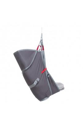 Arnés de elevación de amputados, espalda alta